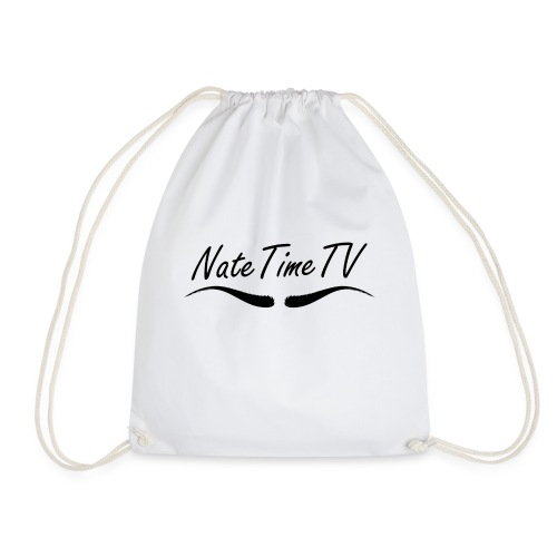 NateTimeTV drawstring bag - Drawstring Bag