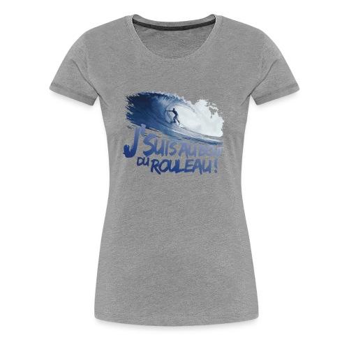 Pour toi surfeuse ! - T-shirt Premium Femme