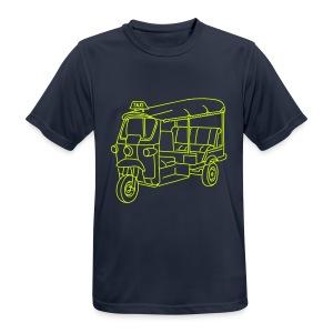 Tuk-Tuk, Taxi aus Indien oder Thailand - Männer T-Shirt atmungsaktiv