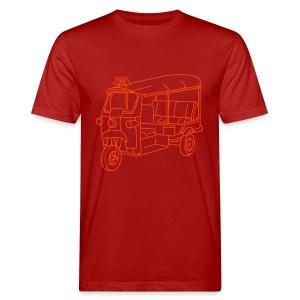 Tuk-Tuk, Taxi aus Indien oder Thailand - Männer Bio-T-Shirt