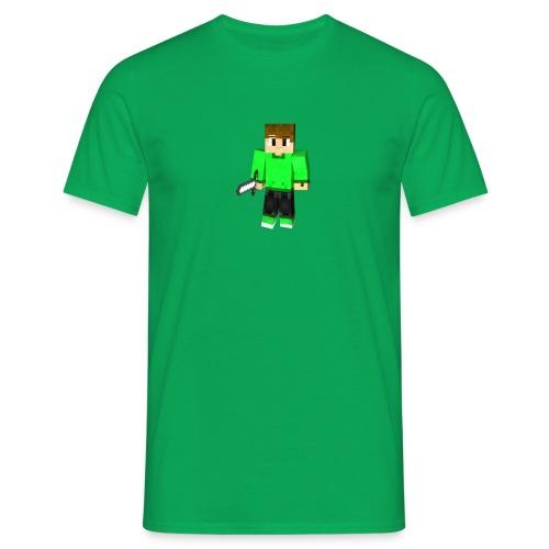 T-Shirt vert avec le Skin Minecraft de SurOx - T-shirt Homme