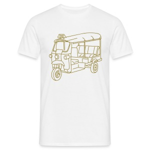 Tuk-Tuk, Taxi aus Indien oder Thailand - Männer T-Shirt