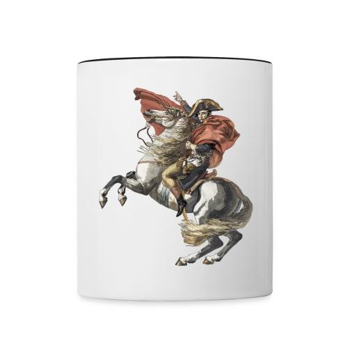 Napoleon Pun Mug (Black&White) - Contrasting Mug