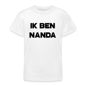 Ik ben Nanda T-shirt voor tieners - Teenager T-shirt