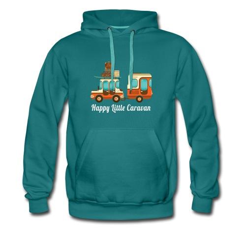 Happy Little Caravan Felpa - Felpa con cappuccio premium da uomo