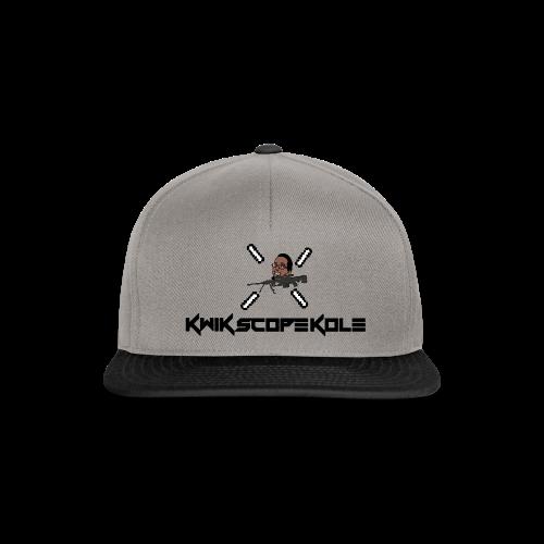 KwikScopeKole Hat With Logo - Snapback Cap