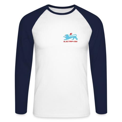 Vereinslogo - Männer Baseballshirt langarm