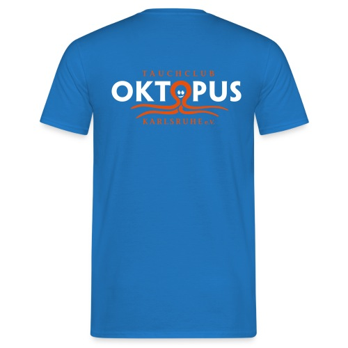 Herren-Okto-Shirt in royal - Männer T-Shirt