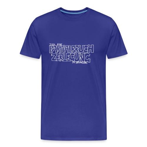 Partialbruchzerlegung (Männer) - Männer Premium T-Shirt