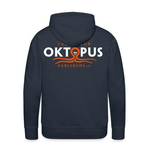 Herren-Okto-Kapuzen-Sweater in navy - Männer Premium Hoodie