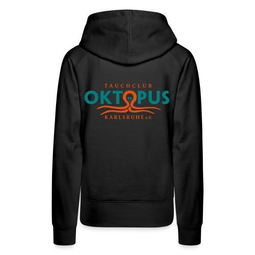 Damen-Okto-Kapuzen-Sweater in schwarz - Frauen Premium Hoodie