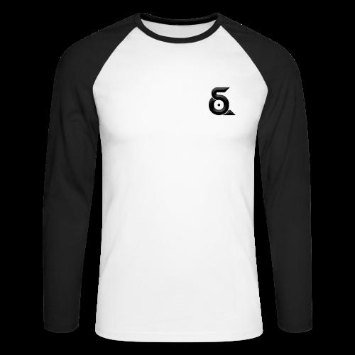 Seaqh_logo_small - Mannen baseballshirt lange mouw