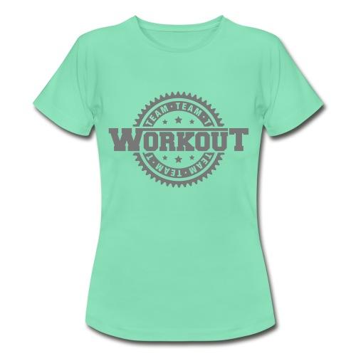 Team Workout Womens Tee - Women's T-Shirt