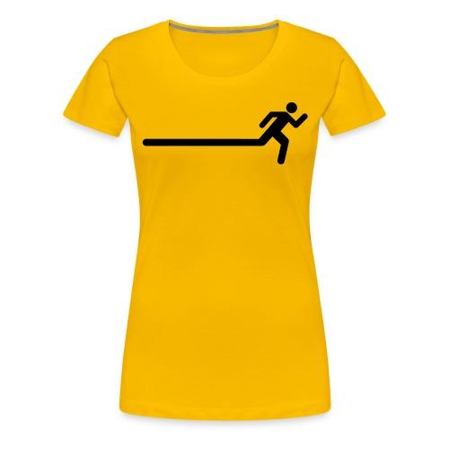 Running Figure Extend Womens Tee - Women's Premium T-Shirt