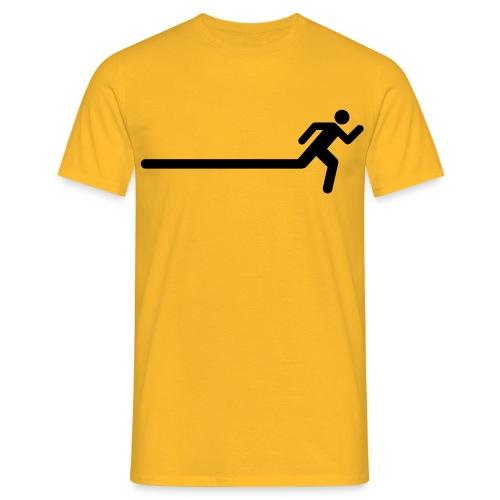 Running Figure Extend Mens Tee - Men's T-Shirt