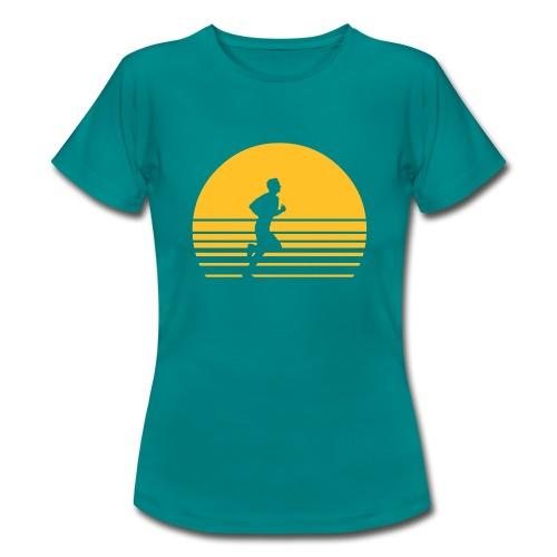Sunrise Runner Womens Tee - Women's T-Shirt