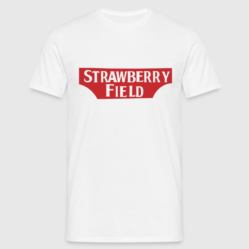 Strawberry Fields - Men's T-Shirt