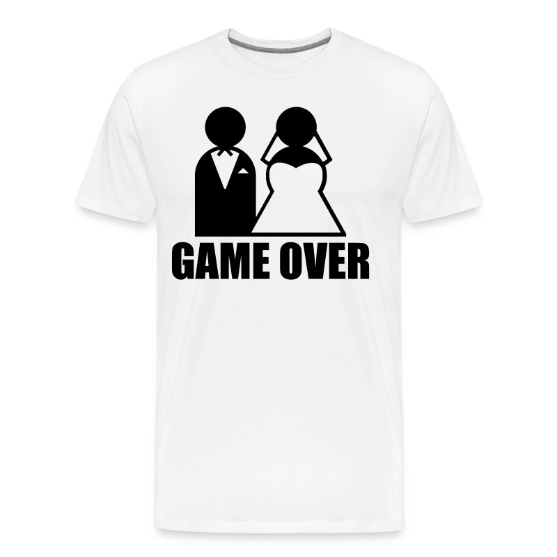 Game Over T Shirt Spreadshirt