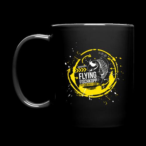 Flying Fischkopp Tasse - Tasse einfarbig