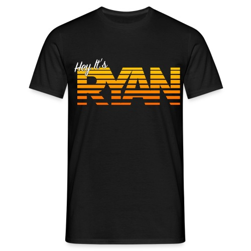 Hey It's Ryan! - Orange Fade - Men's T-Shirt