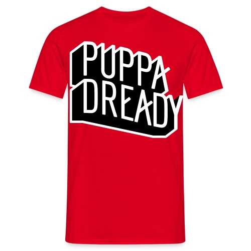 Puppa Dready B&W - T-shirt Homme