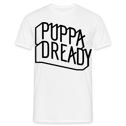 Puppa Dready ClearLine Black - T-shirt Homme