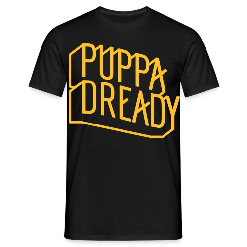 Puppa Dready ClearLine Gold - T-shirt Homme