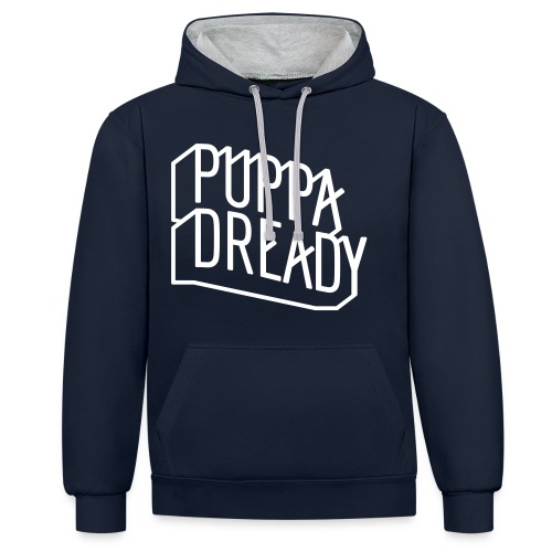Puppa Dready ClearLine White - Sweat-shirt contraste