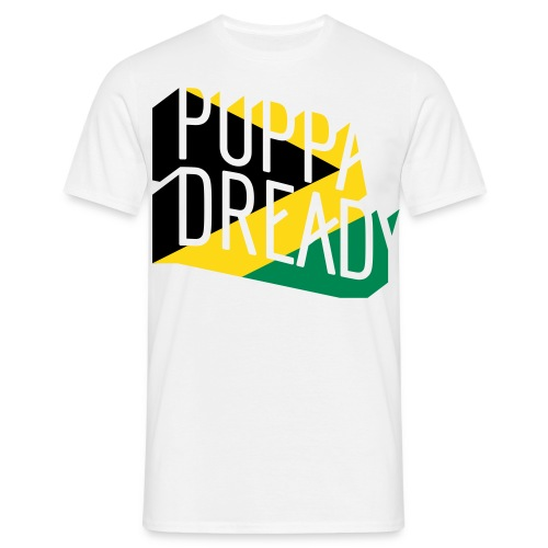 Puppa Dready JamaFlag - T-shirt Homme
