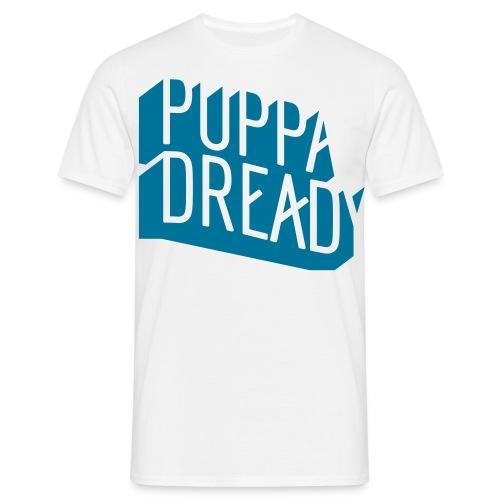 Puppa Dready Négatif Bleu Pétrole - T-shirt Homme