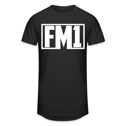 Flamesman1 - Lang T-shirt (unisex) - Herre Urban Longshirt
