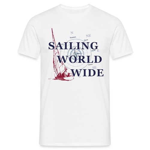 SAILING WORLDWIDE 1 - Männer T-Shirt