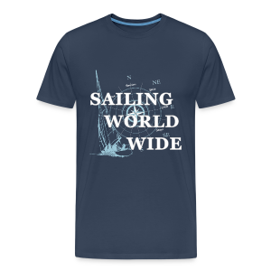 SAILING WORLDWIDE 2 - Männer Premium T-Shirt