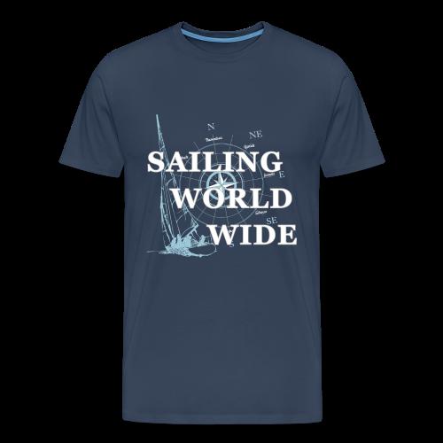 SAILING WORLDWIDE 2 - Männer Premium T-Shirt