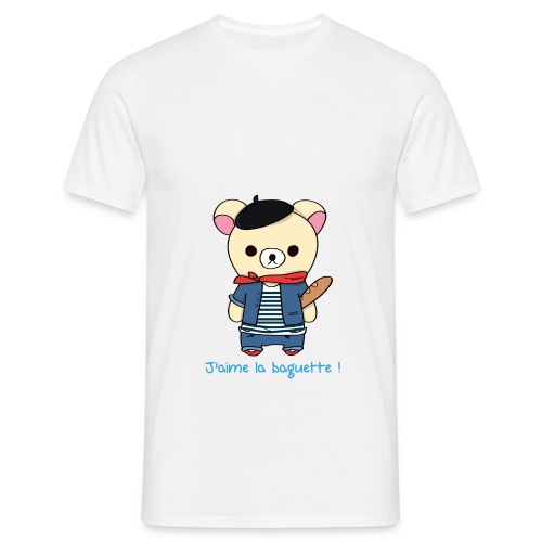 Teddy Frenchy - T-shirt Homme