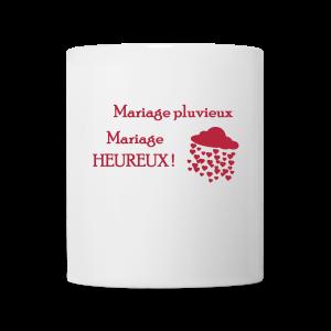 tasse mug mariage pluvieux mariage heureux tasse - Parapluie Mariage Pluvieux Mariage Heureux