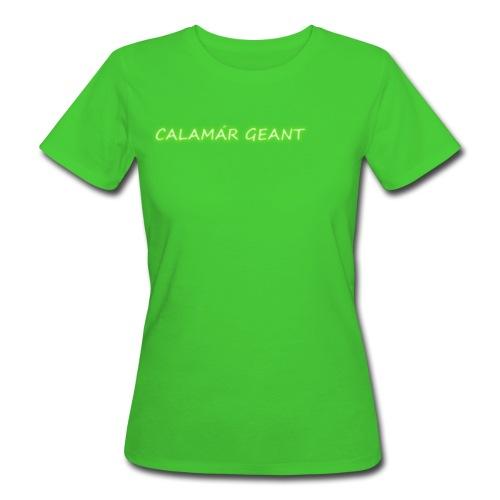 Bio Tshirt Géant ELLE - T-shirt bio Femme