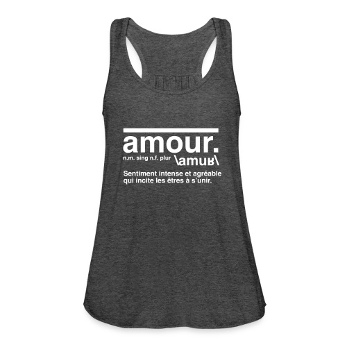 amour - Women's Tank Top by Bella