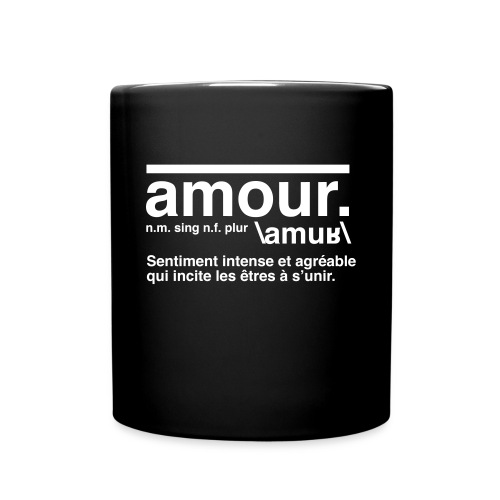 amour - Full Colour Mug