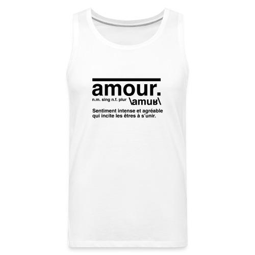 amour - Men's Premium Tank Top