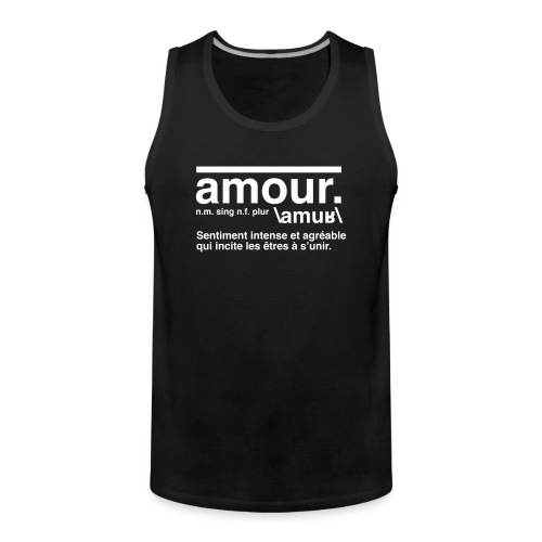 amour - Men's Premium Tank Top