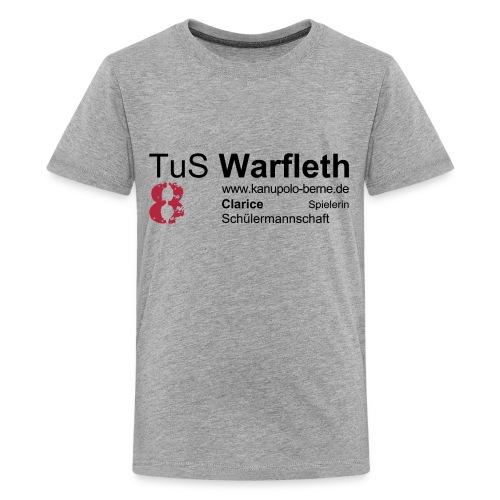 Spielershirt Clarice - Teenager Premium T-Shirt