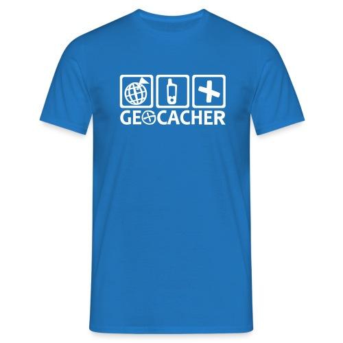 Geocacher T-Shirt  - Männer T-Shirt