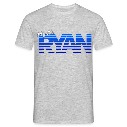 Hey It's Ryan! - Blue Fade - Men's T-Shirt