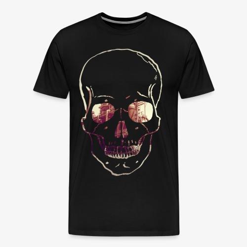 Skull Phoenix West - Männer Premium T-Shirt