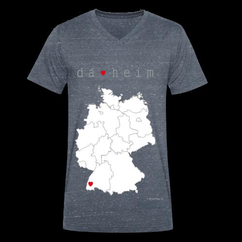 FREIBURG Kollektion  - Männer Bio-T-Shirt mit V-Ausschnitt von Stanley & Stella