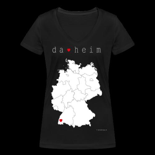 FREIBURG Kollektion - Frauen Bio-T-Shirt mit V-Ausschnitt von Stanley & Stella