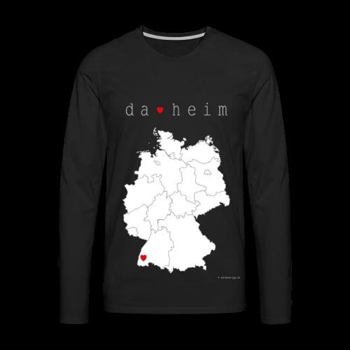 FREIBURG Kollektion - Männer Premium Langarmshirt