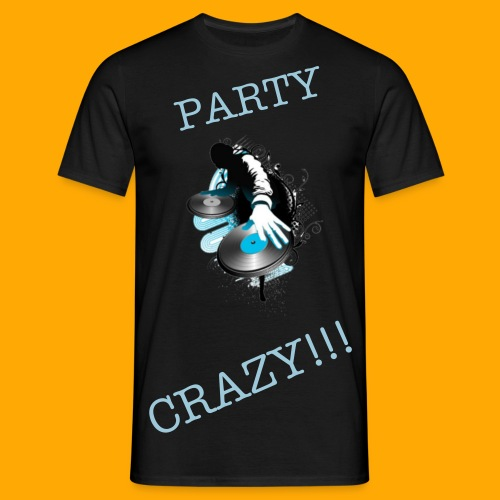 DJ PARTY CRAZY - Men's T-Shirt