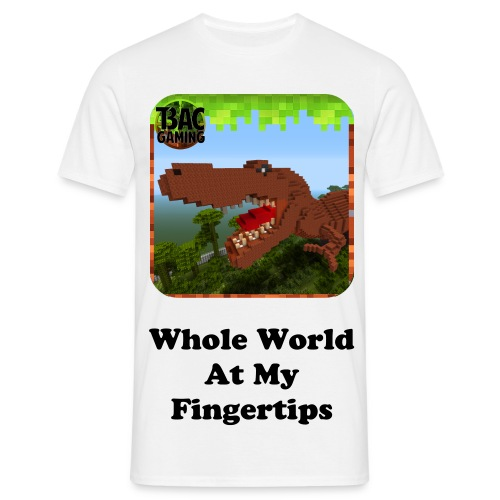 Whole World At My Fingertips Standard T-shirt - Men's T-Shirt